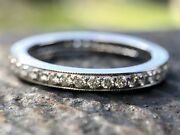 Diamond/platinum Eternity Ring From The Legacy Collection / 3675 Value