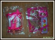 Mcdonalds Happy Meal Nickelodeon Icarly Toys 2011 - Brand New Sealed Items