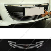 Metal Mesh Front Bumper Lower Vent Grille Grill Trim K For Mazda Cx-7 2010-12
