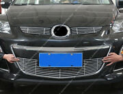 3x Metal Mesh Front Bumper Lowerandcenter Grille Grill K For Mazda Cx-7 2010-12
