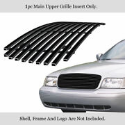 For 1998-2012 Ford Victoria Honeycomb Style Stainless Black Billet Grille