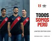 Official Authentic Peru Black Jersey Soccer 2018 Russia Shirt Limited Edition