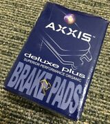Centric Parts Axxis Deluxe Advanced Brake Pads - Front D163 107.01630 For Bmw