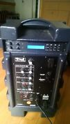 Anchor Xtr-6000c Xtreme Sound System Built-in Cd Player And Companion Speaker