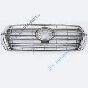 For Toyota Land Cruiser Lc200 Fj200 4000 16-19 Front Grille K Grill Low Version