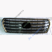 For Toyota Land Cruiser Lc200 Fj200 4000 12-15 Abs Gray Front Bumper Grille K