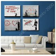 Dreams Doctor House Graffiti Heart House By Banksy   Poster Or Wall Sticker