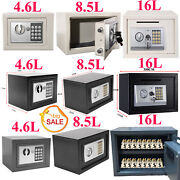 Secure Digital Steel Safe Electronic High Security Home Office Money Safety Box