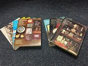 Lot Of 9 1974-82 Guide Book Franklin Mint Issues Coin Silver Bar Plates