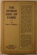 1923 The Human Side Of Fabre Percy F Bicknell Entomologist Biography Insects