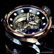 Russian Diver Ghost Bridge Automatic Rose Gold Plated 52mm Watch New