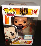 The Walking Dead Funko Pop 390 Negan Barnes And Noble Booksellers Exclusive