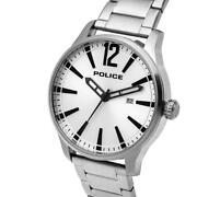 Police 14764js/04m Mens Dallas Stainless Steel Bracelet Watch Rrp Andpound115
