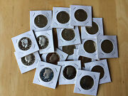10 Old Rare Gem Proof Us Kennedy Half Dollars Mint Coin Mixed Lot