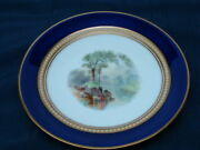 Worcester George Grainger 1839-1902 Hand Painted Cabinet Plate