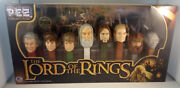 Pez--lord Of The Rings Collector's Set--8 Character Dispensers New In Box