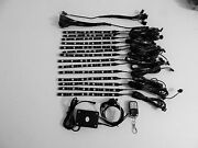 14pc 18 Color Led Wireless Remote Can Am Spyder Rs Motorcycle Led Light Kit