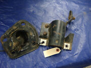 Original 1968 Shelby Ford Mustang Steering Column Support Brackets Top Bottom