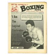 Boxing News Magazine March 22 1968 Mbox3418/f Vol 24 No.12 And039i Am The Logical Co