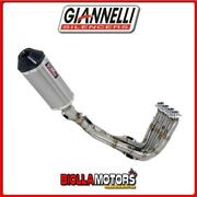73808t6ky Silencieux Full Giannelli Ipersport Yamaha Mt-09 2016- Titane/carbone