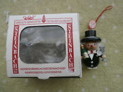 Vintage Wooden Steinback Christmas Decoration Hand Made In Germany
