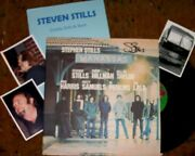 Stephen Stills Signed Album And Photos Real Collectible