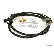 One New Wabco Abs Wheel Speed Sensor Rear Stc1750 For Land Rover Discovery