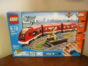 Lego City Limited Edition Used Passenger Train Complete Track 669pcs