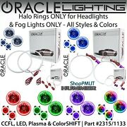 Oracle Halos For Headlights And Fog Lights For 03-10 Hummer H2 All Colors