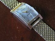 Vintage Wittnauer Solid 14k Gold Case And Band Fine Working