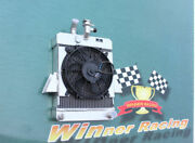 For Triumph Gt6 1966-1973 Aluminum Radiator And10'' 12v Fan Kit 70mm Core