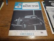 The Bow-tie Car Club January 1968 Eastern Usa Vintage Cars Parts Car For Sale