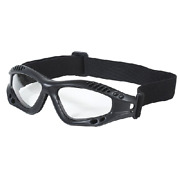 Voodoo Tactical Sportac Protected Goggle Black Ultra Durable Frame 02-8832001000