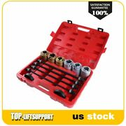 Universal Press And Pull Sleeve Remove Install Bushes Bearings Garage Tool Kit
