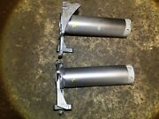 04 06 05 07 Audi A8 Front Left And Right Chassis Leg Extension Beam Absorber Pair