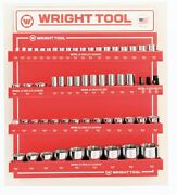 Wright Tool D958 Metric 1/2-inch And 3/4-inch Drive 12-point Sockets