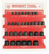 Wright Tool D986 3/4-inch Drive 6 And 12-point Deep Impact Sockets