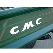 Gmc Pickup Stepside Truck Tailgate Decal White Letters 1947-1953