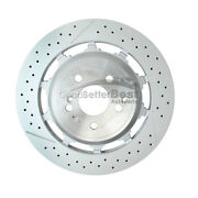 One New Genuine Disc Brake Rotor Rear 2224232012 For Mercedes Mb