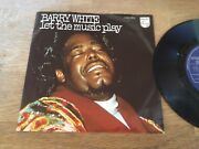 Barry White Let The Music Play 1975 Philips Records Stemra 6162 068 Superhit