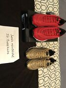 Nike Airmax 97 Cr7 Gold And Red Portugal Patchwork Pack
