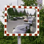 View-ultra Convex Heated Traffic Mirror - Shock And Impact Resistant