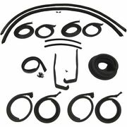 1955 1956 Buick Century And Special 4dr Hardtop Body Weatherstrip Seal Kit