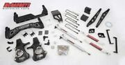 Mcgaughys 7-9 Premium Lift Kit 2014-2018 Gmc Chevy 2wd Stamped Steel A Arms