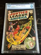 Justice League Of America 3 1st Appearance Of Kanjar Ro Cbcs 5.5 Cream/o White