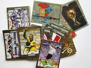 2018 Fifa World Cup Panini Foil Stickers - Emblems And Legends - Pick Your S