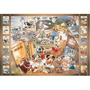 Tenyo 1000 Pieces Jigsaw Puzzle Mickey Mouse History D-1000-158 From Japan Ems