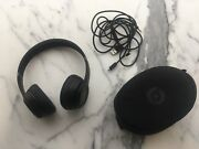 Beats By Dr. Dre Solo3 Wireless Headphones - Black W/ Case And Charger