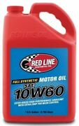 Red Line 11705 10w60 Motor Oil - 1 Gallon - Pack Of 4