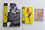 Watchmen Dc Comics Tpb , Movie Portraits, Tales Of The Black Freighter Dvd Lot